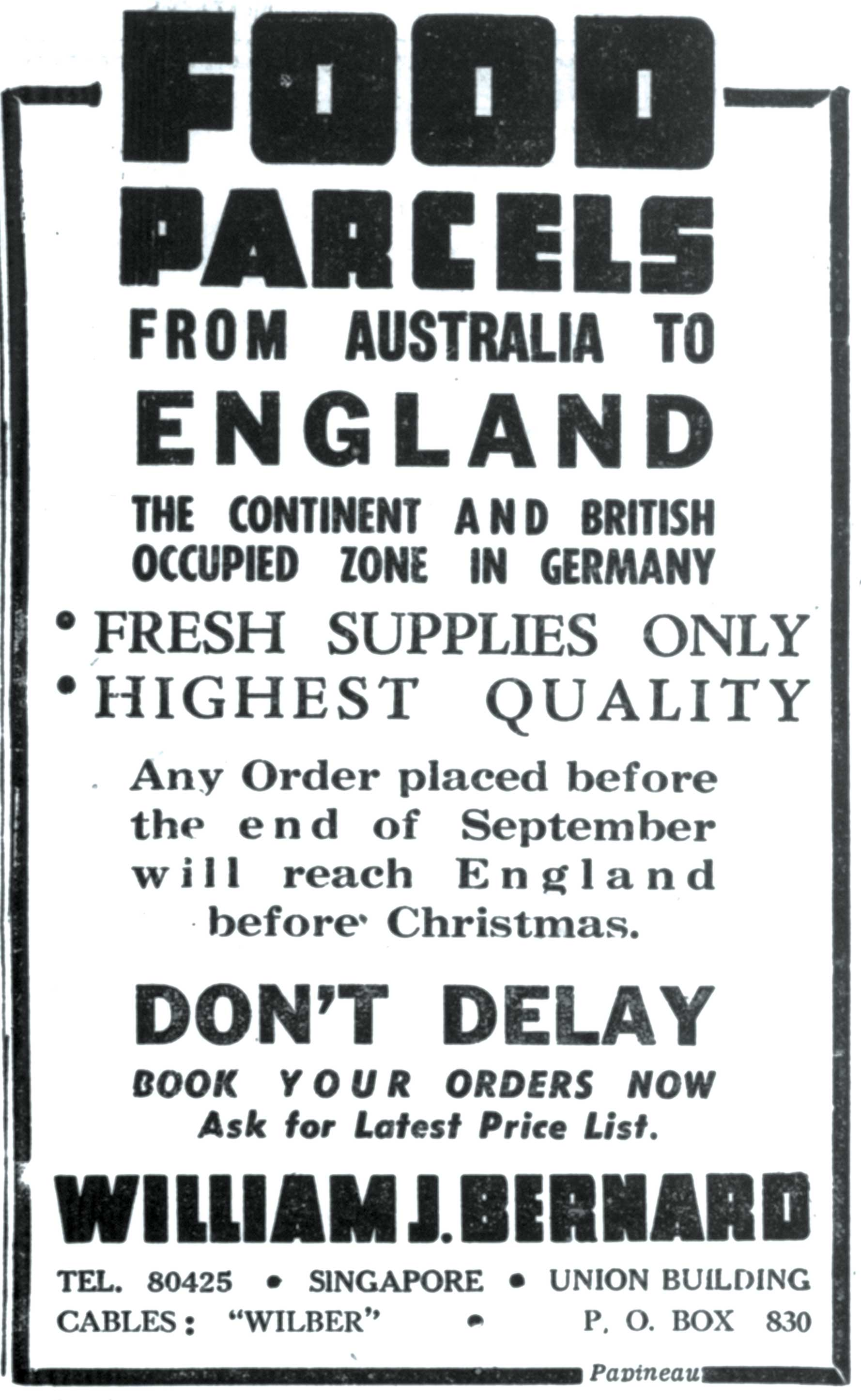 Selling Dreams: Early Advertising In Singapore