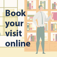 Book your visit online